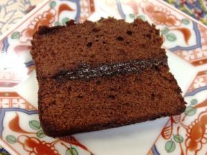 資生堂チョコケーキ